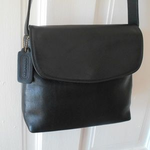 Coach Vintage Cross Body Leather Bag